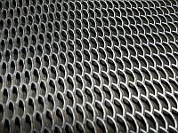 Перфорированный лист 1000х2000х1 мм; 0.5х1250х2500; 0.8х1250х2500мм ГОСТ купить с доставкой.  ПВЛ (просечно-вытяжной)