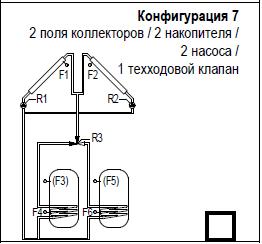 Принципиальная схема Солнечной станции.