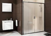 Душевая дверь раздвижная четырёхэлементная Ravak Blix BLDP4-130, 1300х1900 мм
