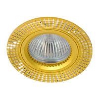 Точечный встраиваемый светильник Feron GS-M369 MR16 золото