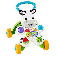 Ходунки толкатель Зебра Learn with Me Zebra Fisher Price