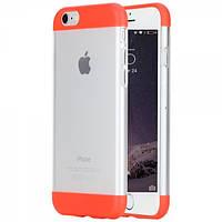 Чехол для iPhone 6/6S - Rock Aully Series, красный