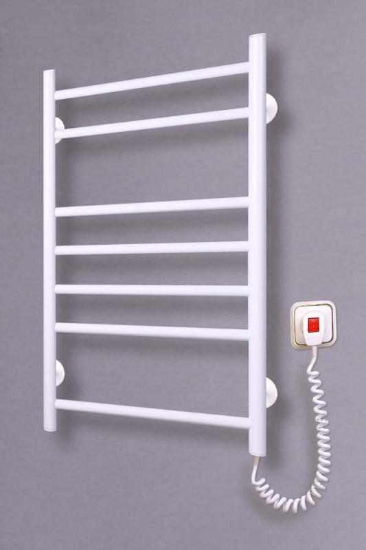Электрический полотенцесушитель  Лесенка 7 белая