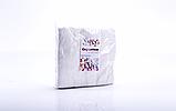 Серветки спанлейс 20х20см з перфорацією сітчаста структура, 100шт рулон, фото 5
