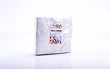 Серветки спанлейс 5х5см гладка структура, упаковка 100шт, фото 2