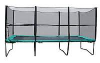 Прямоугольный батут 457х305 см с защитной сеткой и лестницей KIDIGO™