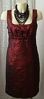 Платье модное коктейльное миди DKNY р.44 6676а