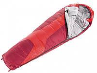Спальный мешок Deuter Orbit 0° Long fire/cranberry правый (37440 5520 0)