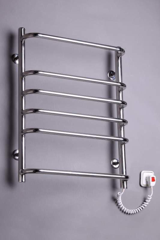 Электрический полотенцесушитель  Стандарт 6 нержавейка