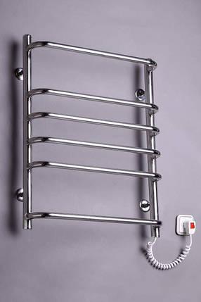 Электрический полотенцесушитель  Стандарт 6 нержавейка, фото 2