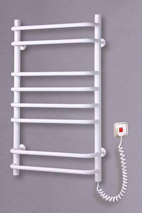 Электрический полотенцесушитель  Стандарт 8 белый, фото 2