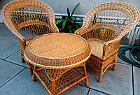 Дачная и садовая плетеная мебель из лозы, фото 1