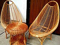Комплект плетеной мебели для балкона