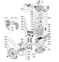 Запчасти на компрессор ABAC B 4900, OMA FT 4/540/200