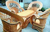 Изысканая мебель плетеная