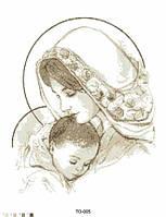 "Бисерная заготовка ""Мария с младенцем""  ТО-005"