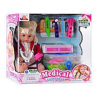 Кукла с набором доктора 1303B/C/D