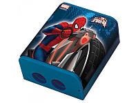 """Точилка для карандашей двойная с контейнером """"Человек - паук"""" 620200 1 Вересня"""