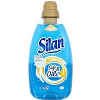 Ополаскиватель для белья Silan 1,5 л soft & oil (голубой)