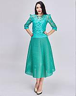 Универсальная юбка Луиза бирюзового цвета