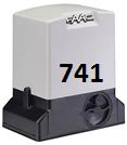 Привод FAAC 741 для створки массой до 900 кг