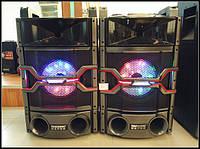 Активная акустика DP-240 с двумя радиомикрофоними