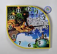 Часы настенные Биология