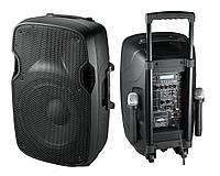 Аренда активной акустической системы NGS PP-2112AUS-CB на аккумуляторе