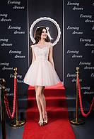 Милое коротенькое вечернее платье стиля куклы Барби