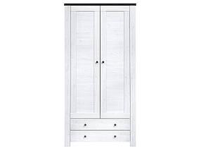 Шкаф платяной 2D2S Антверпен (Гербор ТМ)