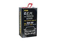 Моторное масло Mannol O.E.M. Toyota Lexus SAE 5W-30 C2 A5/B5 A1/B1 4л  metal