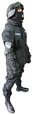 Тактический черный костюм для спецназа, фото 3