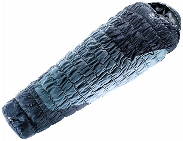 Спальный мешок Deuter Exosphere -8° SL silver-anthracite Zip right (3700815 4140 0)