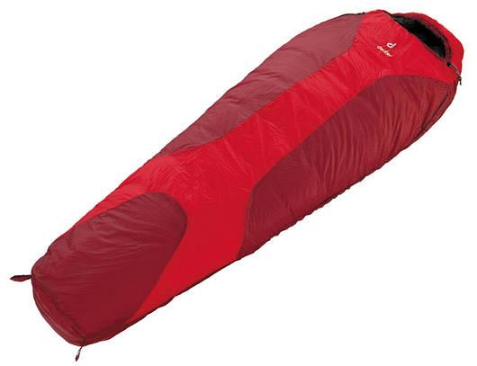 Спальный мешок Deuter Orbit 0° SL fire/cranberry правый (37450 5520 0)