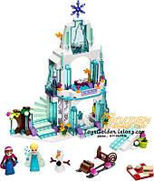 Конструктор Фроузен Frozen Ледяной Замок Эльзы 10435 (аналог Лего 41062)