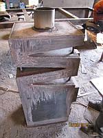 Лабиринтовый теплообменник, практичен тем,что тепло не выбрасывается на прямую в дымоотводную трубу.