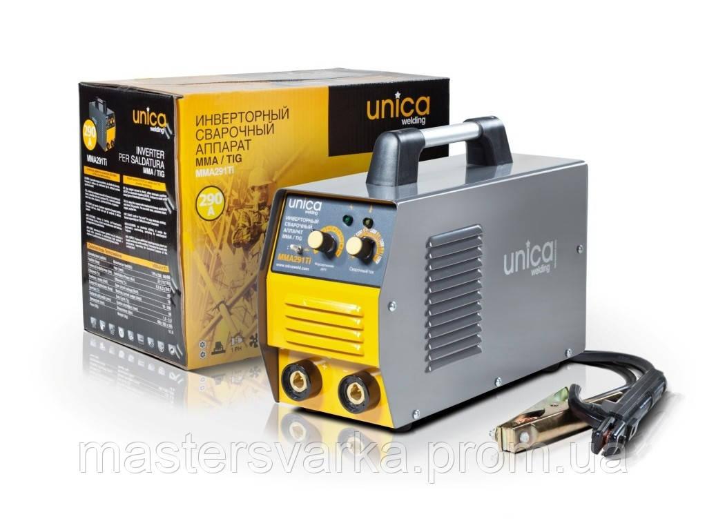 Сварочный инверторный аппарат Unica MMA 291