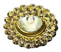 Светильник Точка Света  G 100 CL (золото, прозрачный., 50Вт)