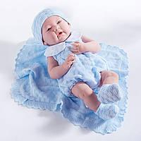Berengue, кукла младенец мальчик - Azul,  38см
