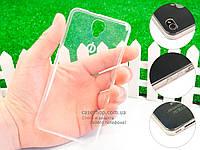 Ультратонкий 0,3мм силиконовый чехол для Nomi i504 Dream