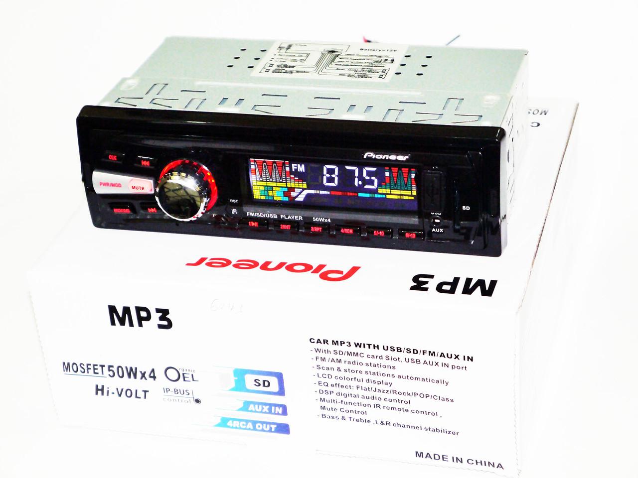 Автомагнитола Pioneer 6243 MP3/SD/USB/AUX/FM