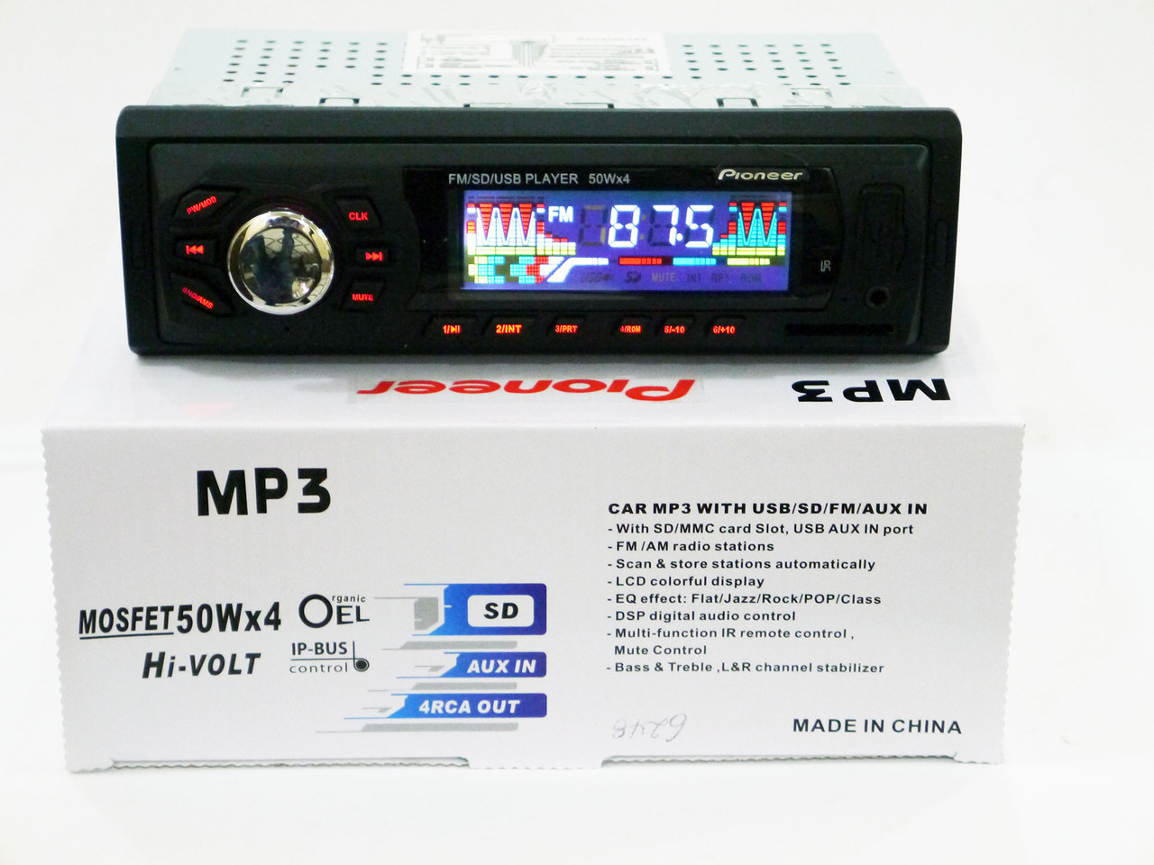 Автомагнитола Pioneer 6248 MP3/SD/USB/AUX/FM