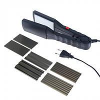 Выпрямитель для волос и гофре 25 Вт Magio 175MGBL