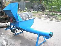 Калибровочный барабан (сепаратор) биомассы для производства топливных брикетов