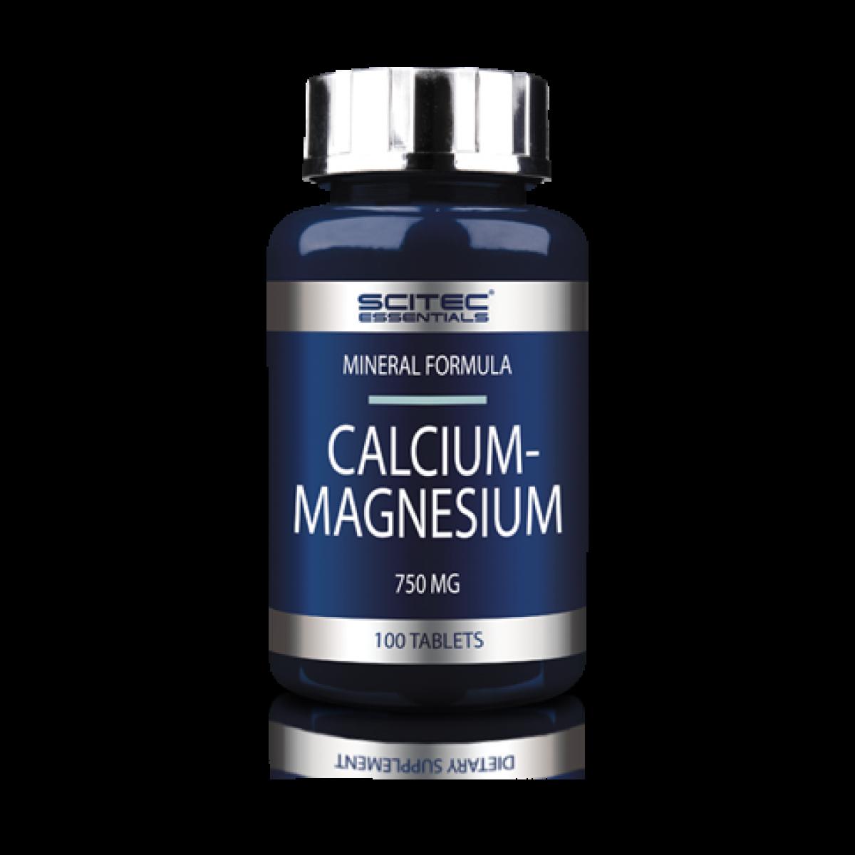 Calcium-Magnesium Scitec Nutrition 100 tabs