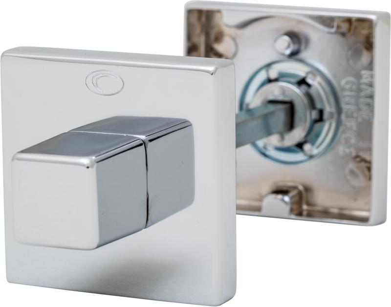 Розетка Convex 50х50 WC матовый хром, фото 1