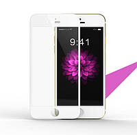 Tempered glass Full cover for iPhone 6 Remax, white