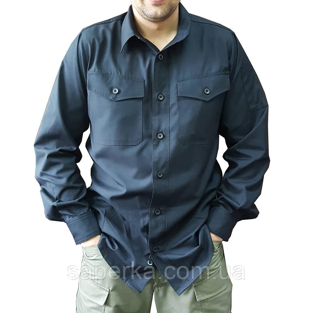 Рубашка тактическая милитари черная - Военторг Сапёрка- оптово-розничный магазин армейской экипировки, одежды, обуви и товаров для туризма в Харькове