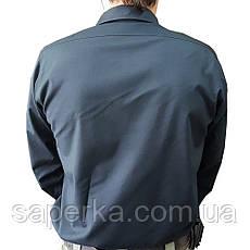 Рубашка тактическая милитари черная, фото 3