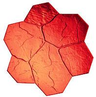 100% полиуретановый Штамп  Большой Фlowerstone, фото 1